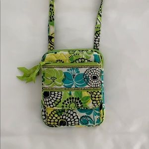 Vera Bradley Mini Hipster in Limes Up